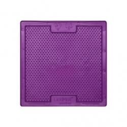 Lickimat Soother - tapis de léchage violet à remplir de nourriture pour chien ou chat conçus pour les aider, les occuper.