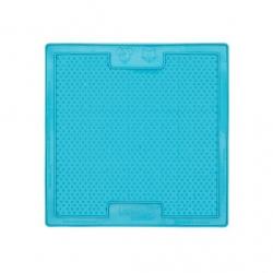 Lickimat Soother - tapis de léchage bleu à remplir de nourriture pour chien ou chat conçus pour les aider, les occuper.