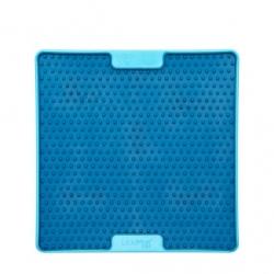 Lickimat Soother Pro - tapis de léchage bleu à remplir de nourriture pour chien ou chat conçus pour les aider, les occuper.